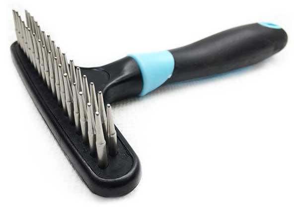 Husky rake brush